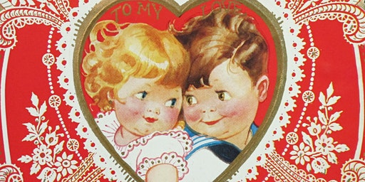 "She's Crafty - Tues. Feb.4th or Thurs. Feb. 6th  ""Vintage Valentines!"""