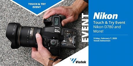 Nikon D780 Touch and Try Event at Vistek Edmonton tickets