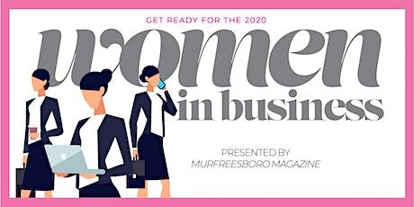2020 WOMEN IN BUSINESS tickets