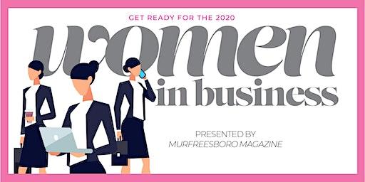 2020 WOMEN IN BUSINESS