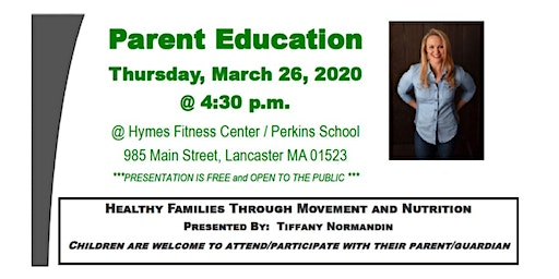 Healthy Families Through Movement and Nutrition