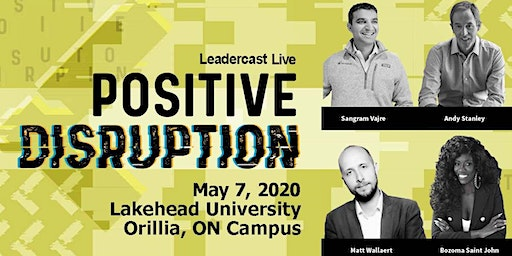Leadercast LIVE Lake Country 2020 - Positive Disruption