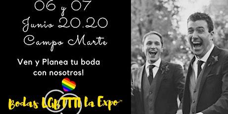 Bodas LGBTTTI La Expo 4ta. Edición entradas