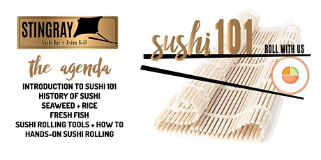 Sushi 101 - Roll With Us! tickets