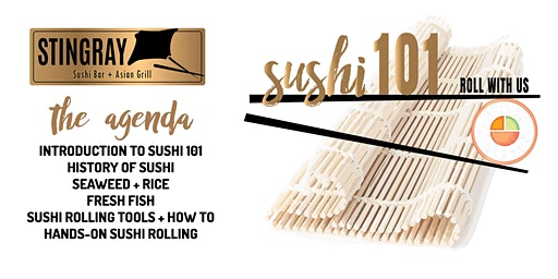 Sushi 101 - Roll With Us!