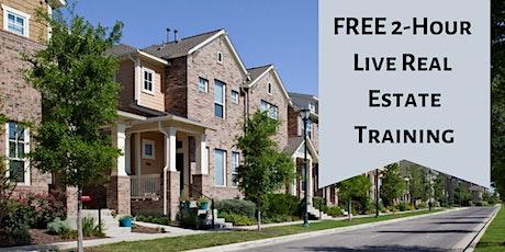 FREE 2-Hour Live Real Estate Training - Sacramento, CA tickets