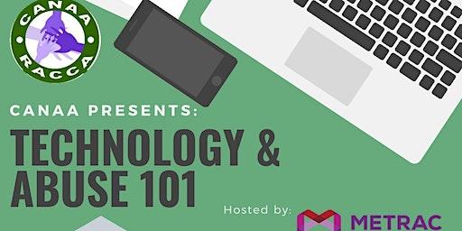 Technology & Abuse 101