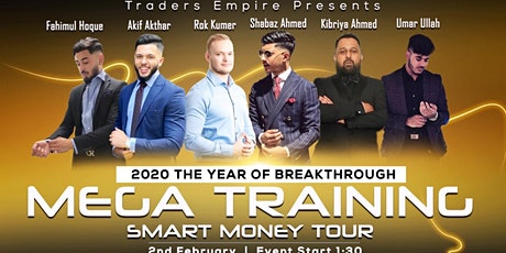 Mega Training Smart Money Tour tickets