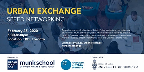 Urban Exchange : Speed Networking Event 2020 tickets