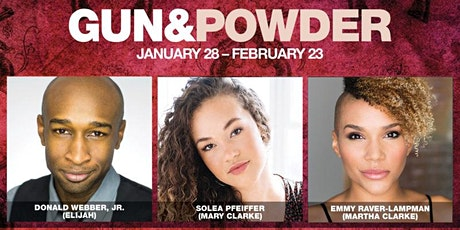 Premiere of Gun & Powder at the Signature Theater tickets