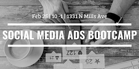 Social Media Ads Bootcamp tickets