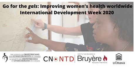 """""""Go for the gals: Improving women's health worldwide"""" - IDW 2020 tickets"""