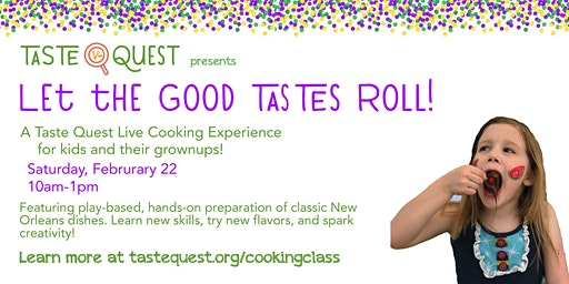 Let the Good Tastes Roll! Parent/Child Cooking Class
