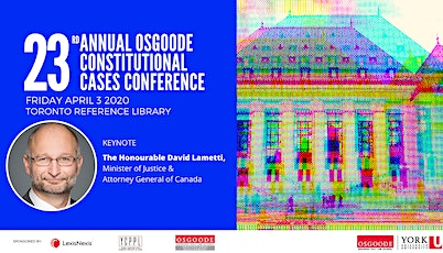 23rd Annual Constitutional Cases Conference tickets