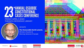 23rd Annual Constitutional Cases Conference