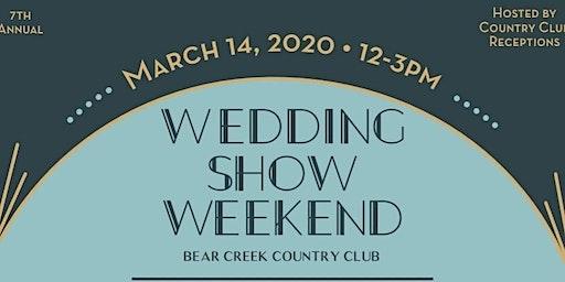 Wedding Show Weekend 2020