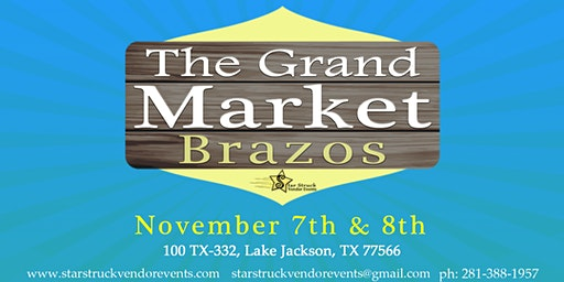 The Grand Market Brazos Mall (November 7-8)