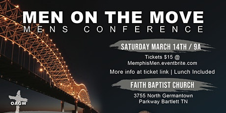 MEN ON THE MOVE  Men's Conference tickets