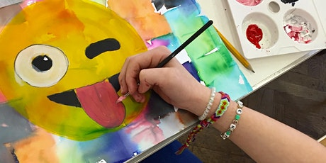 HALF TERM ART WORKSHOP - Emoji Art tickets