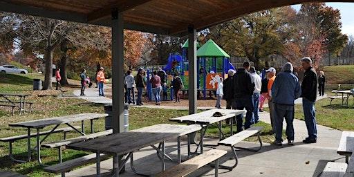 Park Shelter at Cody Park - July through September