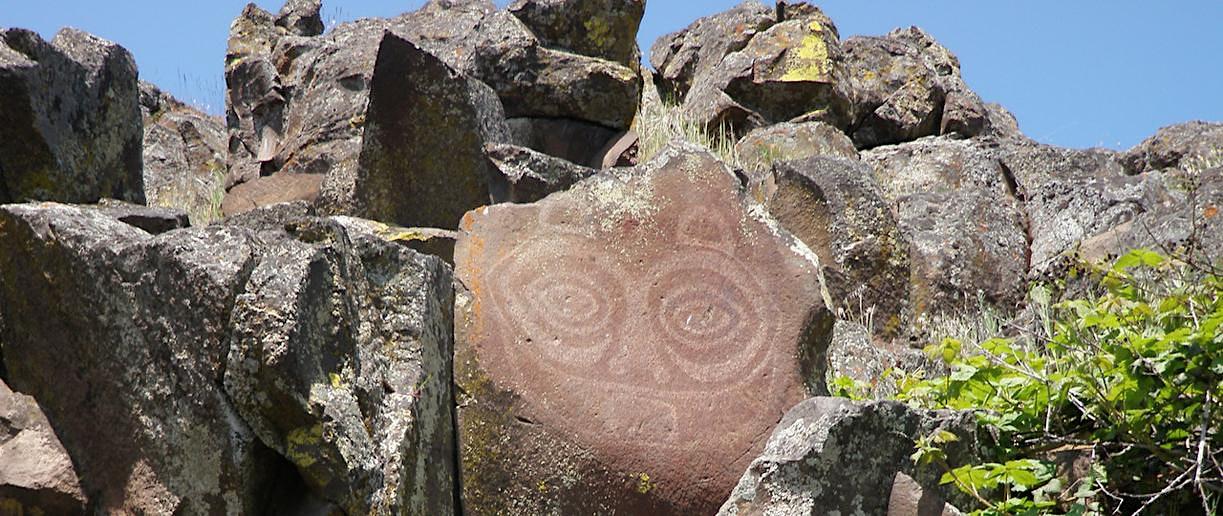 Petroglyphs Tour & Dancing Rock Walk, WA