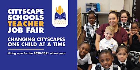 Cityscape Schools Teacher Job Fair tickets