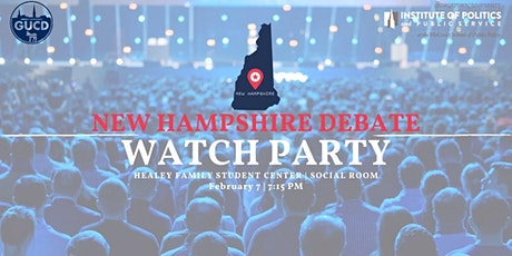 New Hampshire Debate Watch Party tickets