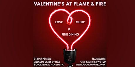 Valentines Dinner at F&F tickets