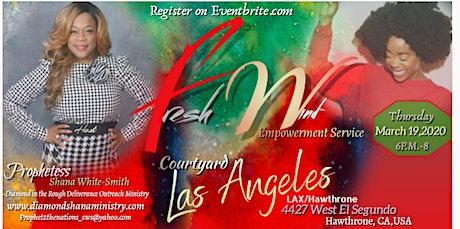 Fresh Wind' Empowerment Service 2020 tickets