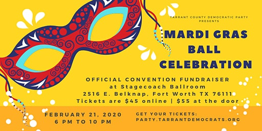 TCDP Mardi Gras Ball Celebration Fundraiser