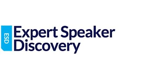 Expert Speaker Discovery