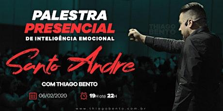 PALESTRA DE INTELIGÊNCIA EMOCIONAL EM SANTO ANDRÉ- SP 06/02/2020 ingressos