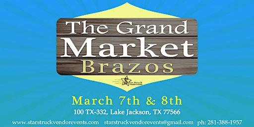 The Grand Market Brazos Mall (March 7-8)