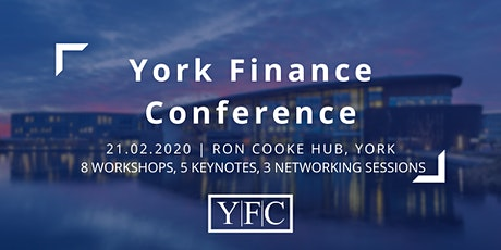 York Finance Conference 2020 tickets