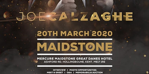 Joe Calzaghe - Maidstone