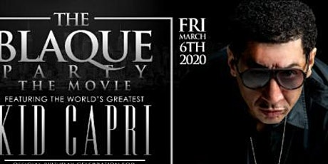 "THE ""ALL BLACK AFFAIR""/MUSIC POWERED BY THE WORLD'S GREATEST ""DJ KID CAPRI"" tickets"