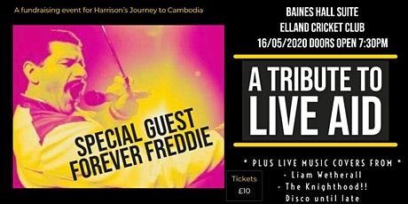A Tribute to LIVE AID with special guest FOREVER FREDDIE! tickets
