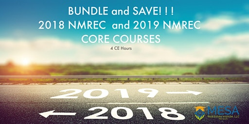 Bundle and Save! Choose 2018 & 2019 NMREC Core Courses, save 10%