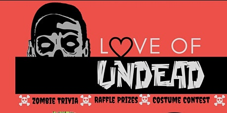 Love is Undead - Zombie Trivia Fundraiser  tickets