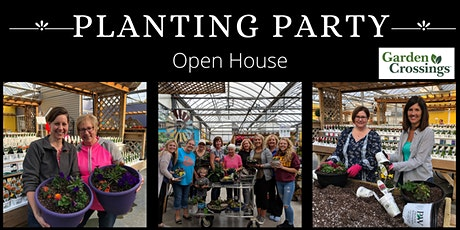 CANCELLED=Planting Party Open House tickets