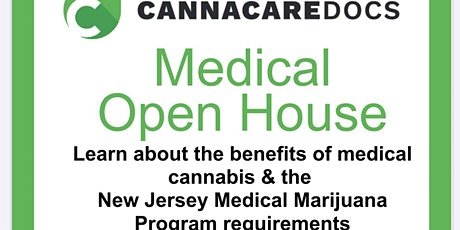 LEARN HOW TO GET YOUR NEW JERSEY MEDICAL MARIJUANA CARD LINWOOD OPEN HOUSE tickets