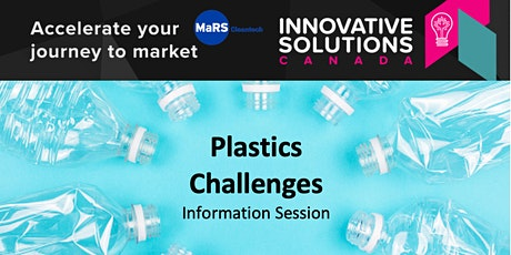 Innovative Solutions Canada - Plastics Challenges and More! tickets