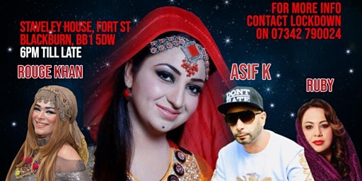 AFSHAN ZAIBE  LIVE IN CONCERT