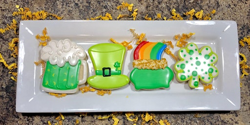 St Patty's Cookie Decorating Class