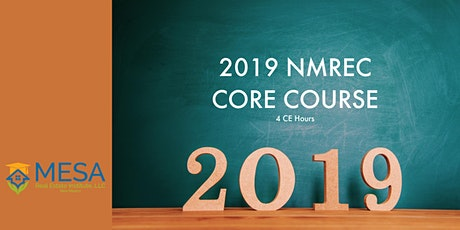 2019 NMREC Core Course tickets