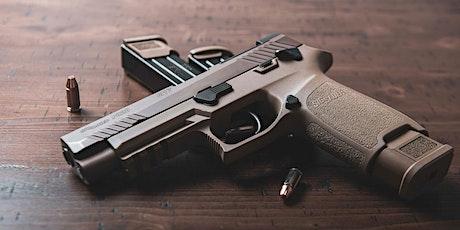 Brevetto BRONZO3000 - Pistola/Handgun biglietti