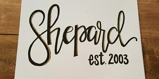 Hand Lettering With Christy