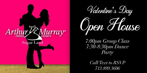 Learn to Dance on Valentine's Day!