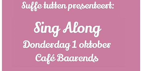 Suffe tutten Sing Along met Peter Heyt tickets