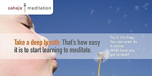 Sahaja Meditation: feel the energy within